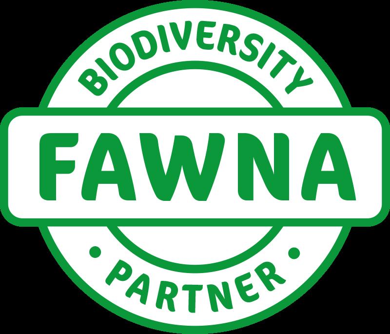FAWNA Biodiversity Partner Badge